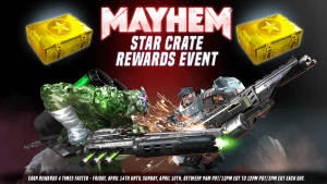 Takedown Contest and Extra Crate Rewards Weekend